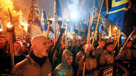 Gut organisiert, gut vernetzt: Neonazis in der Ukraine.