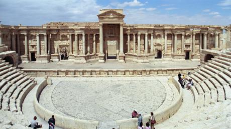 Islamischer Staat zerstört Teil des Römischen Theaters in Palmyra