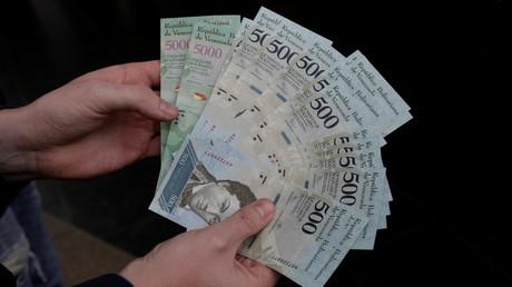 Venezuela emittiert neue senkrechte Geldscheine