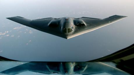 Ein B-2-Bomber der US-Luftwaffe
