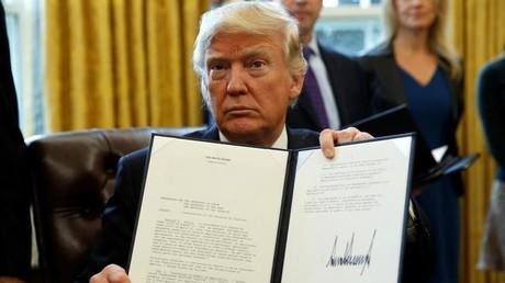 Donald Trump lässt Pipelines Keystone XL und Dakota Access weiterbauen
