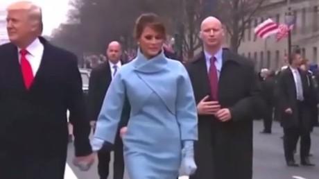 Fake-Hände beim Leibwächter von Donald Trump?