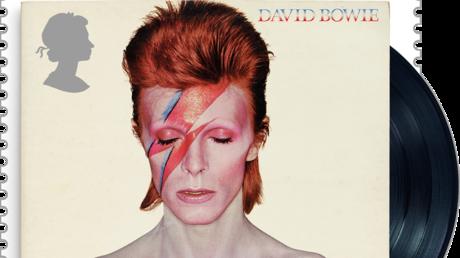 Britische Post präsentiert Briefmarken-Kollektion zu Ehren von David Bowie