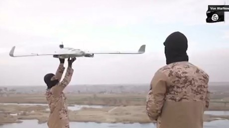 IS veröffentlicht erste Videoaufnahme eines Kampfdrohnen-Einsatzes