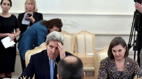 Nicht nur John Kerry muss gehen - auch der Stab des bisherigen US-Außenministers verlässt das State Department.
