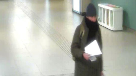 Anis Amri, der Tunesier, der verdächtig ist, den Anschlag auf den Berliner Weihnachtsmarkt durchgeführt zu haben, auf einem Foto von Überwachungskameras auf dem Brüsseler Nordbahnhof, Belgien, 21. Dezember 2016.