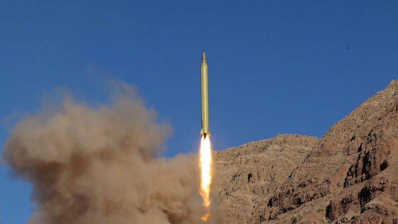 Irans Verteidigungsminister bestätigt Test von Mittelstrecken-Rakete