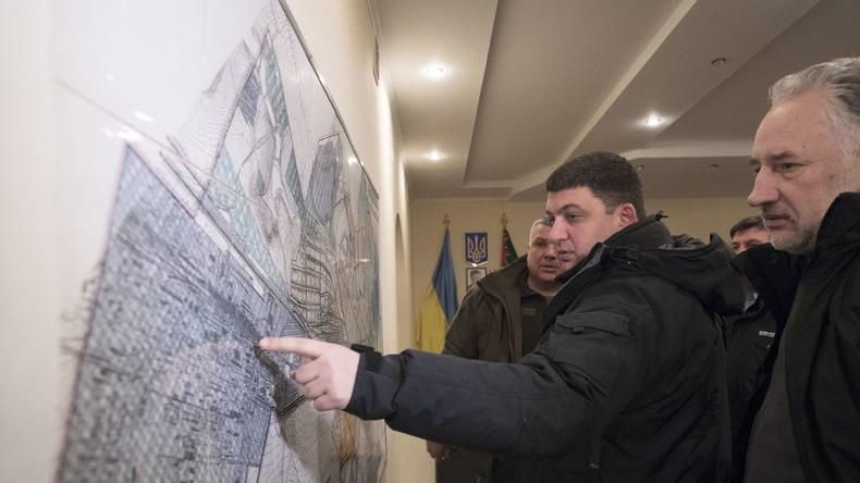 """""""Stoisch vorgedrungen"""": Ukrainisches Verteidigungsministerium gesteht Offensive im Donbass"""