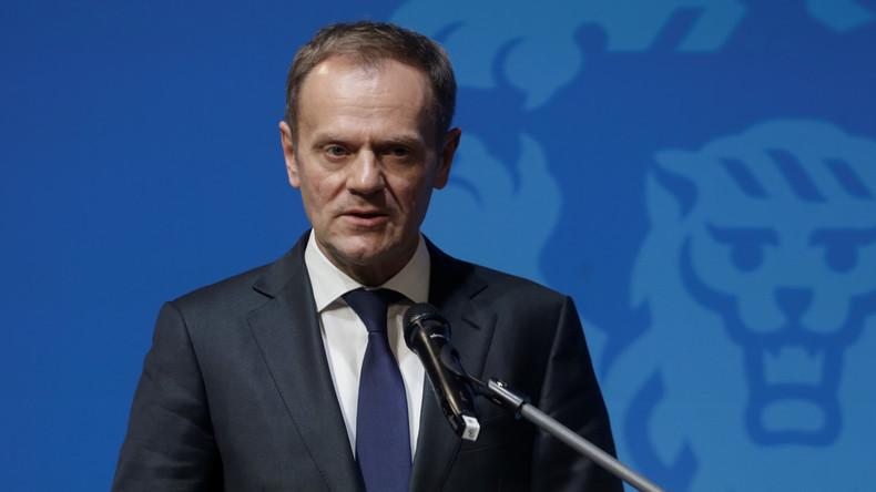 EU-Ratspräsident Tusk: Russland, China, der IS und die USA bilden externe Bedrohungen für Europa