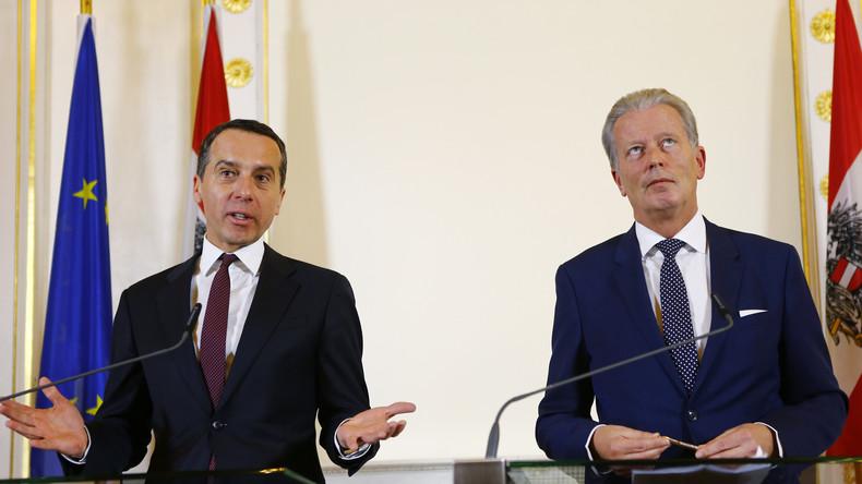 """Österreich: """"Inszenierter"""" Neubeginn der Koalition nährt Spekulationen über Neuwahlen"""