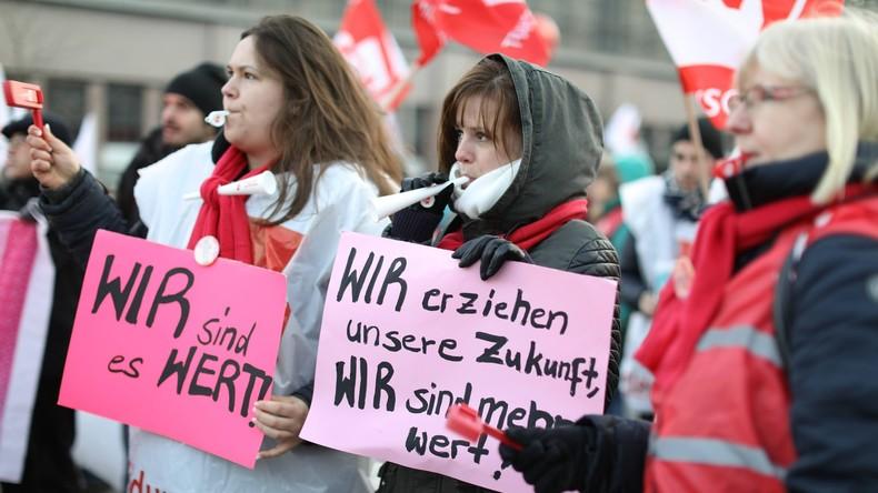 Gewerkschaften machen mobil: Warnstreiks im öffentlichen Dienst