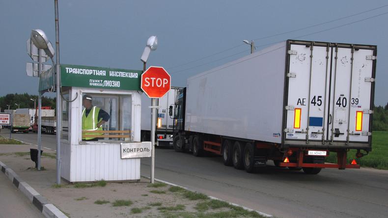 Russland richtet Grenzzone für Weißrussen ein