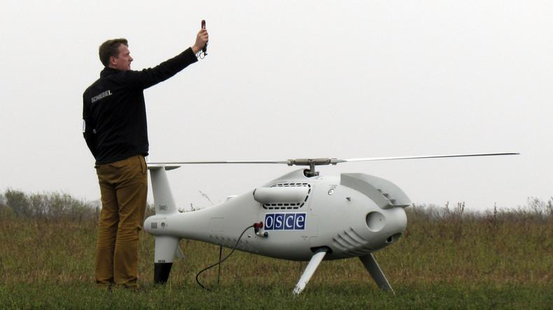 Ukrainisches Militär beschießt OSZE-Drohne mit einer BUK-Rakete über VR Donezk