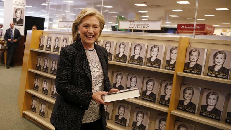 Hillary Clinton will Familienetat durch eigenen Bestseller auffüllen
