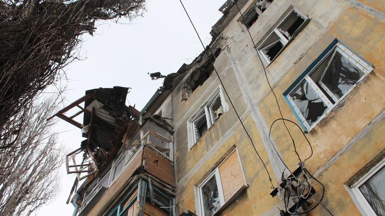 Zahl der Beschüsse mit schwerer Munition im Donbass steigt auf 1.000 – OSZE