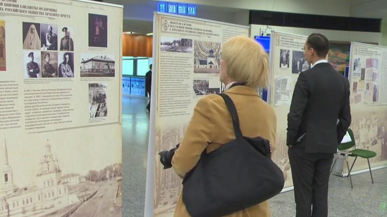 Ausstellung über Russisches Rotes Kreuz in Wien eröffnet