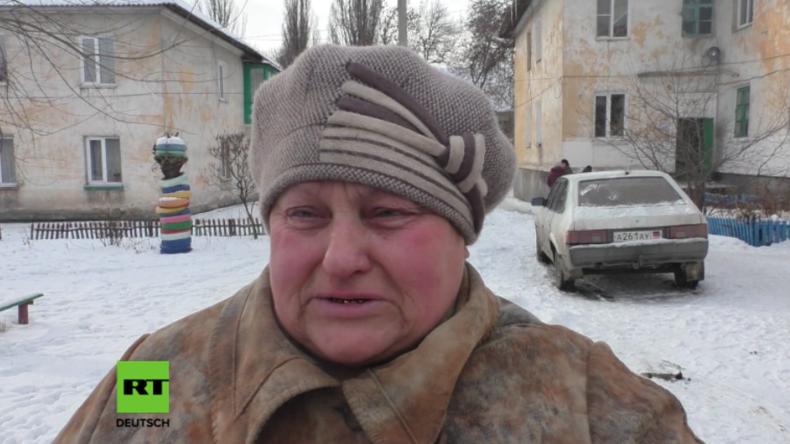 """Ostukraine: """"Warum bürdet man uns ein solches Leid auf?"""" - Zwei Tote nach jüngstem Beschuss"""