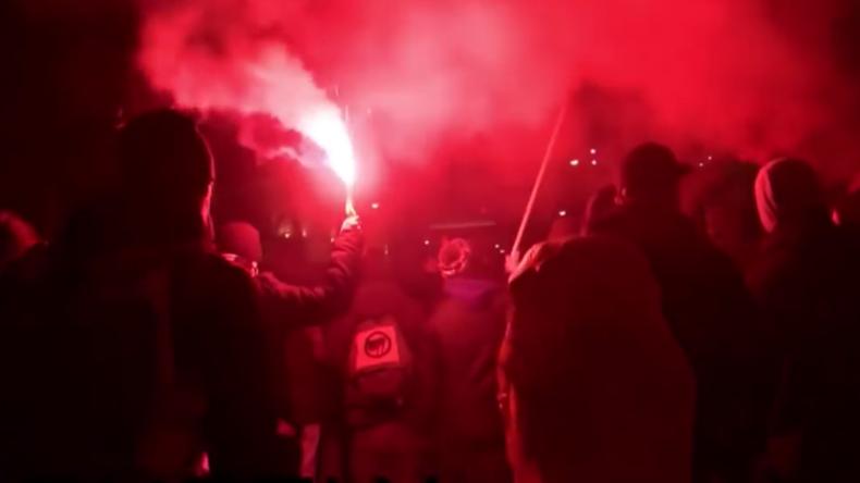 Live: Alle Jahre wieder - Proteste gegen Wiener Akademikerball der FPÖ