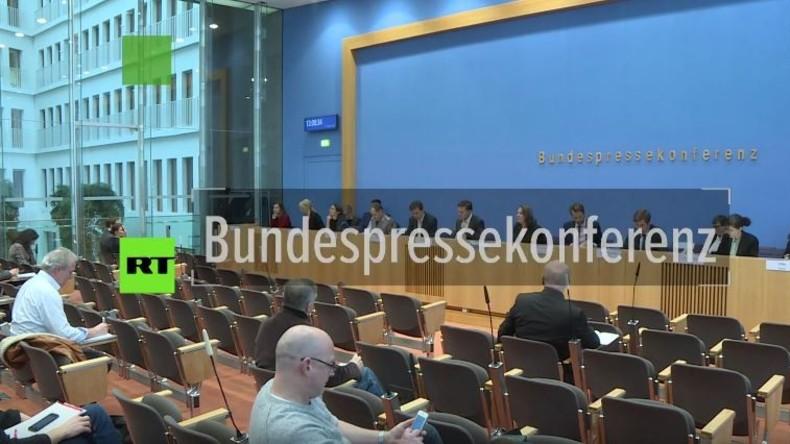 Regierungspressekonferenz: Keine Strategie, keine Kenntnis zu abgetauchten islamistischen Gefährdern