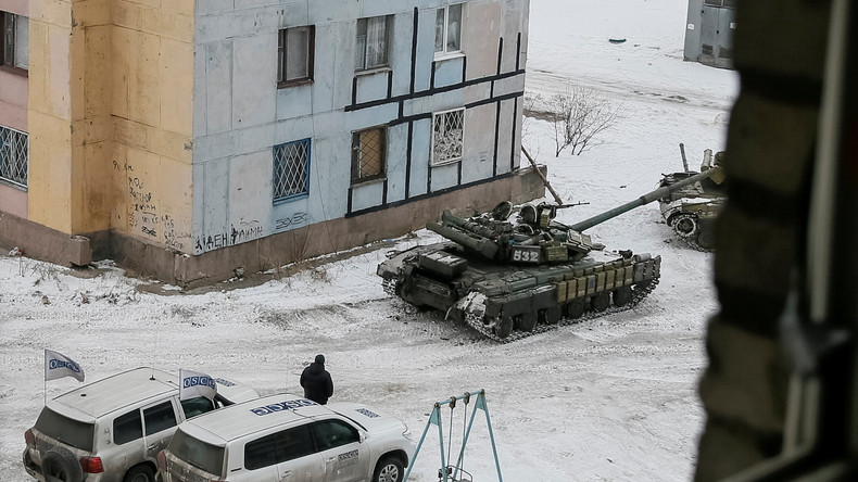 Verletzung der Waffenruhe in Ostukraine: BBC-Video belastet ukrainische Streitkräfte schwer