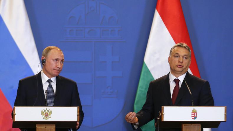 """Putin zu Gast in Ungarn: """"Orban könnte EU-Sanktionen fallen lassen"""""""