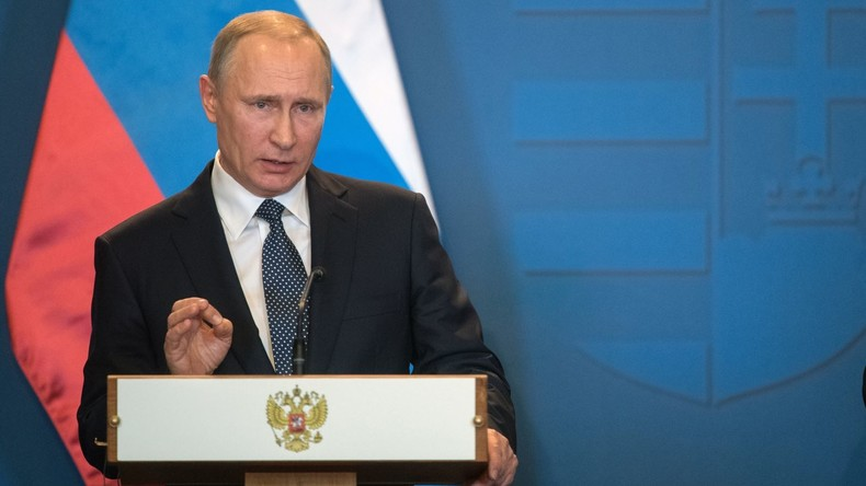 Wladimir Putin zur Eskalation im Donbass: Kiew braucht Geld und will es beim Westen herausschlagen