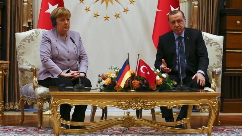 Erdogan klärt Merkel über Islam und Terror auf