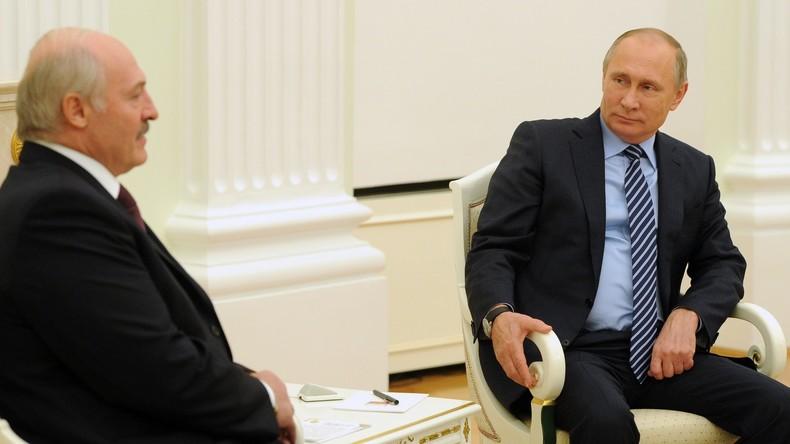 Kreml: Moskau und Minsk müssen Streitfragen mit ruhiger Hand lösen