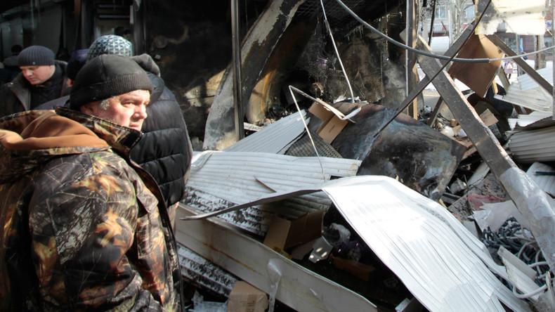 Tote, Verletzte, Evakuierungen: Ukraine-Bürgerkrieg wieder im vollen Gange