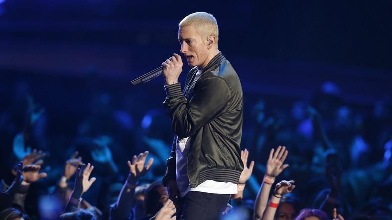 Eminem beschimpft Trump und prophezeit seinen Untergang