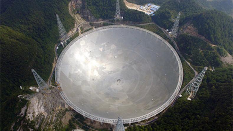 USA sind besorgt wegen Chinas Kontaktsuche zu Außerirdischen