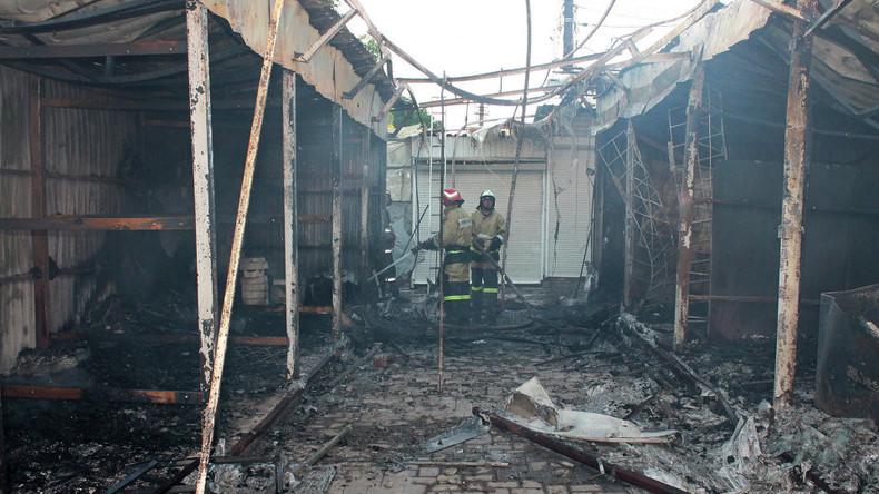 Ukrainische Offensive gegen Wohnviertel in Ost-Ukraine: OSZE pflegt Kunst des Wegsehens