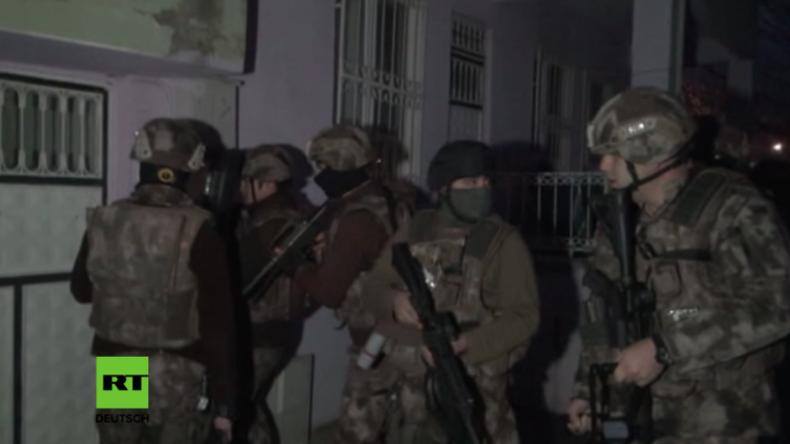 Großrazzia in der Türkei: Rund 400 mutmaßliche IS-Anhänger festgenommen, darunter auch Deutsche