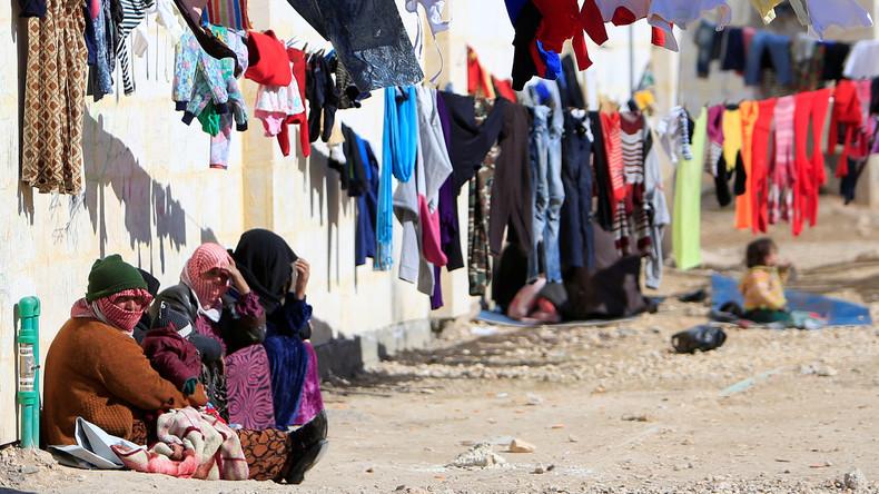 Belgische Abgeordnete besuchen größtes Flüchtlingslager Aleppos
