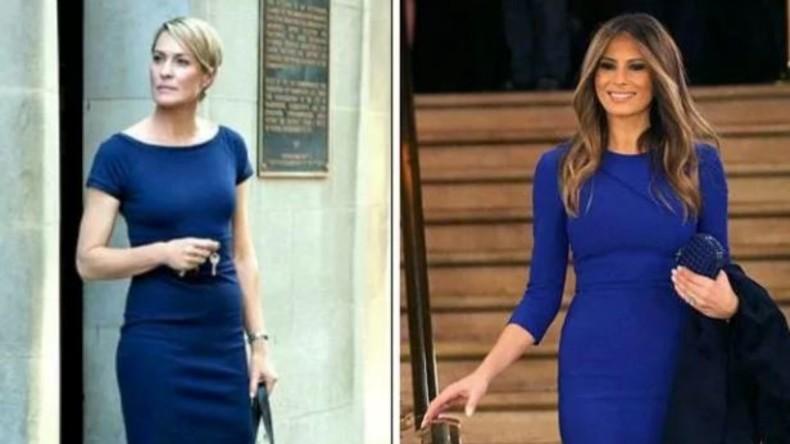 """Melania Trump der Nachahmung der Präsidentenfrau in """"House of Cards"""" verdächtigt"""
