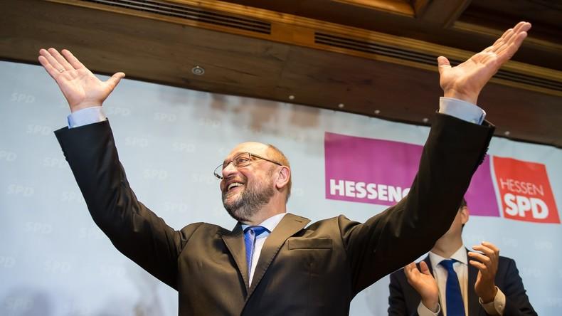 Umfrage: SPD überholt CDU und CSU
