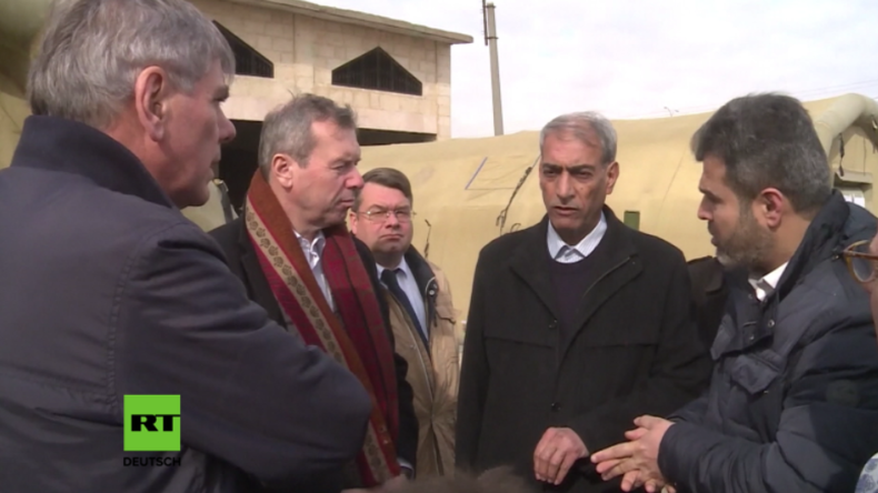"""Belgische Abgeordnete in Aleppo: """"Die Russen helfen, wo sie können, und die EU überhaupt nicht"""""""