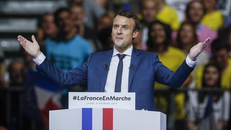 """Präsidentschaftskandidat Emmanuel Macron: """"Es gibt keine französische Kultur"""""""