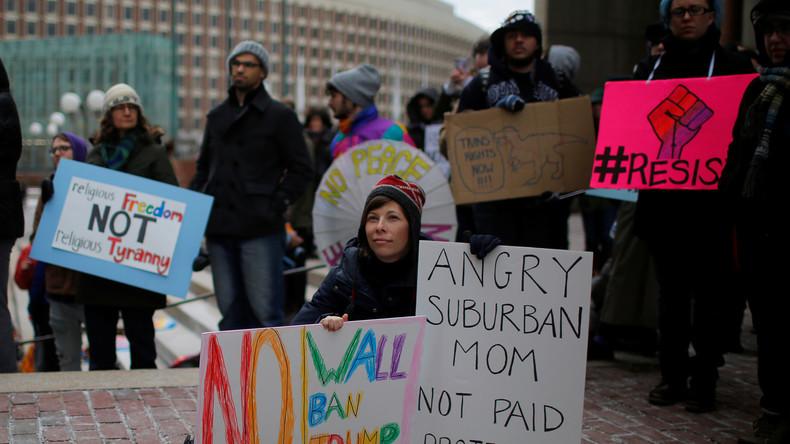 USA: Massenproteste gegen Trumps Migrationspolitik weiten sich aus