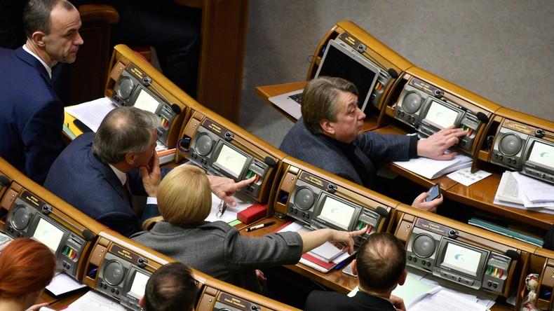 Ukrainisches Parlament will deutschen Botschafter wegen seiner Erklärung über Donbass boykottieren