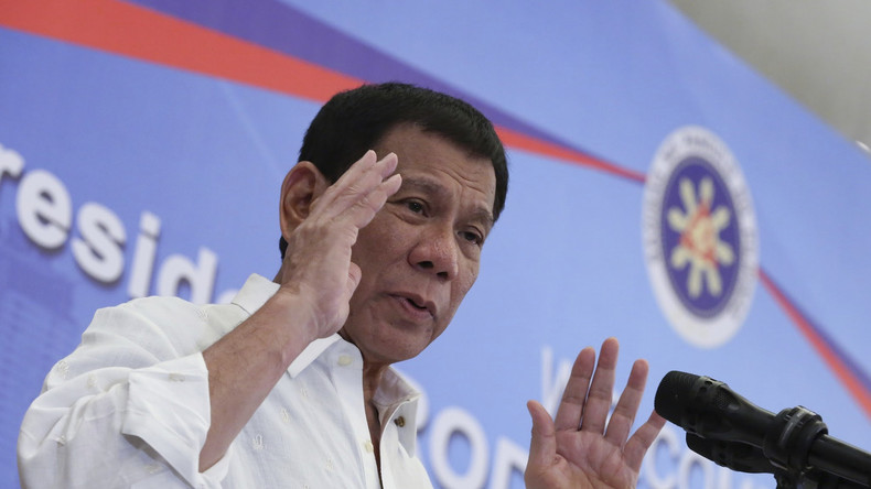 Rodrigo Duterte will korrupte Polizisten zu radikalen Islamisten schicken