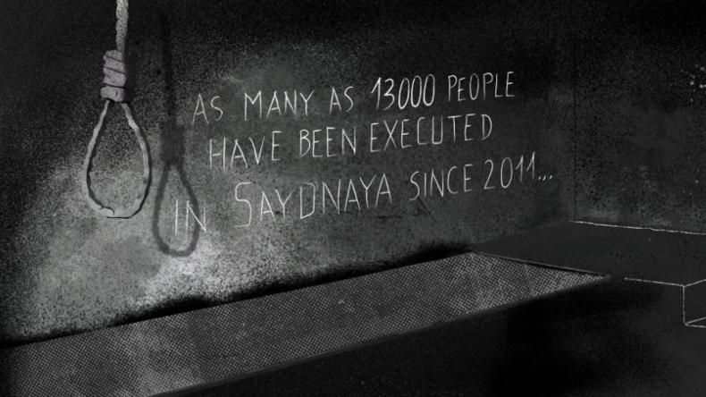 Amnesty International legt Bericht über Folter in Syrien vor – mit geschätzten Zahlen