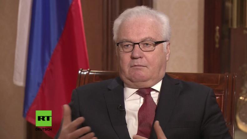 Tschurkin: Angst vor Annäherung zwischen USA und Russland - Darum verschärft Kiew Ukraine-Konflikt