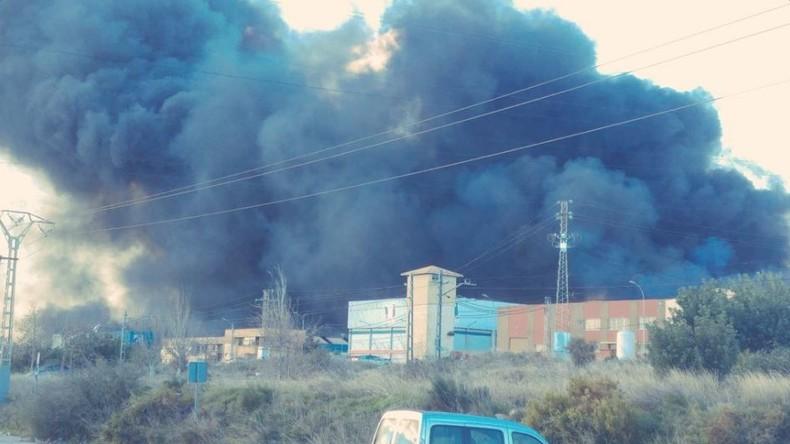 Explosion im Chemiewerk in Valencia - 3.000 Menschen evakuiert