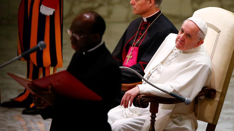 """Papst Franziskus: """"Im Vatikan gibt es Korruption, aber ich bin ruhig"""""""