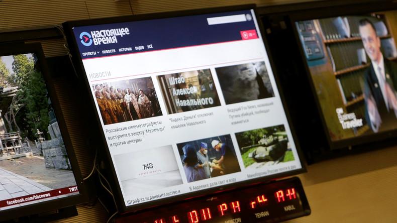 Washington startet in Tschechien 24-Stunden-Fernsehkanal für Russland