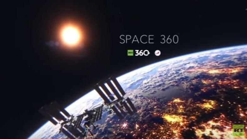 RT-Exklusiv: Kosmonautenausbildung für Schwerelosigkeit in 360°