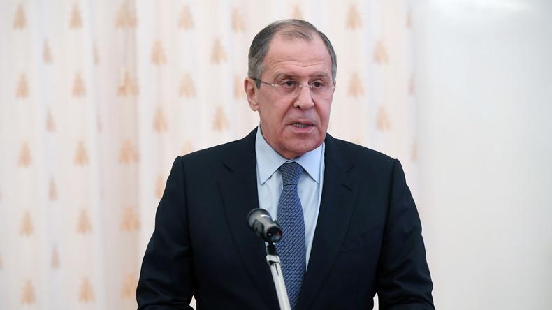 Rede des russischen Außenministers: Wenn die Diplomaten verstummen, beginnen die Kanonen zu sprechen