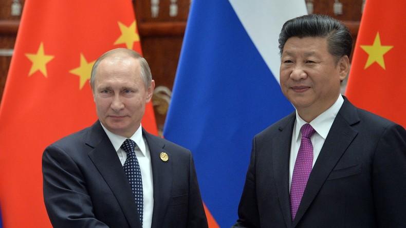 """Peking: """"Chinesisch-russische Beziehungen so gut wie noch nie"""""""
