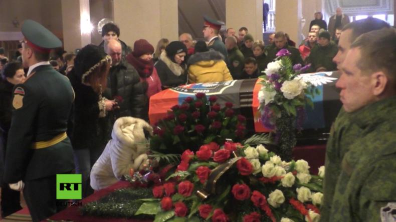 """""""Danke Giwi!"""" - Der Donbass nimmt Abschied von seinem """"Che Guevara"""""""